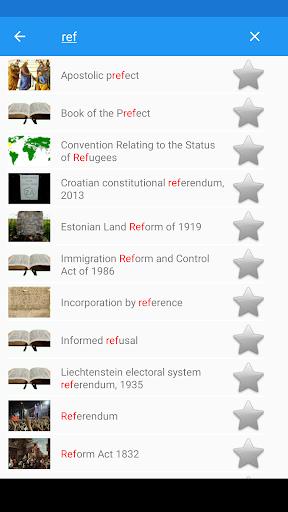 Legal Terminology Offline 1.0.6 screenshots 2