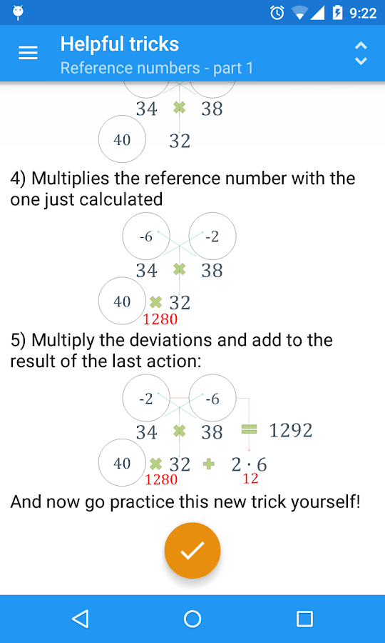 1001 tasks for mental calculation Mental math isn't as difficult as it might sound, and you may be  it may seem like  a daunting task, but memorizing all the squares from 1 to 20.