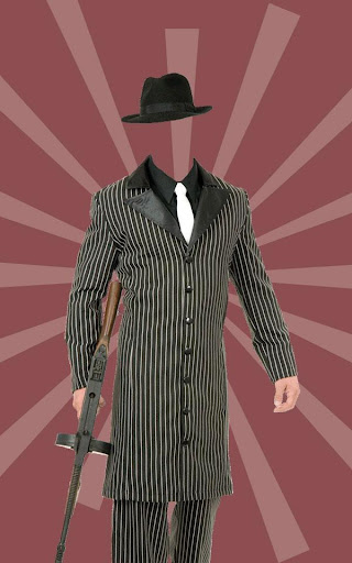 Photo Suit for Gangster