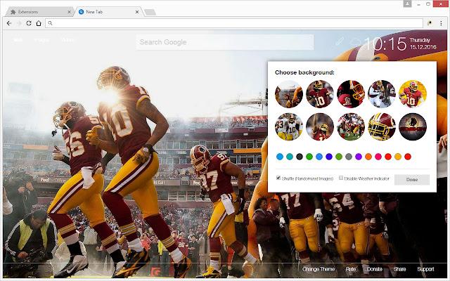 NFL Washington Redskins Wallpapers HD New Tab