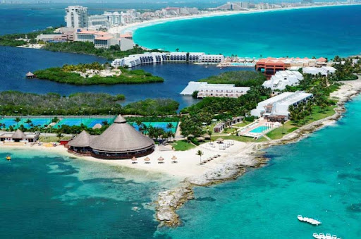 Club Med Cancun, which has won awards as the best family-friendly all-inclusive resort in Cancun, Mexico. Airline employees and their families can take advantage of deeply discounted rates at Club Med and elsewhere.