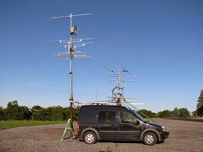 Photo: K8GP / Rover - FN00RG (looking W) - ARRL June VHF 2014