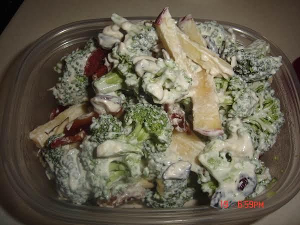Broccoli And Apple Bacon Salad