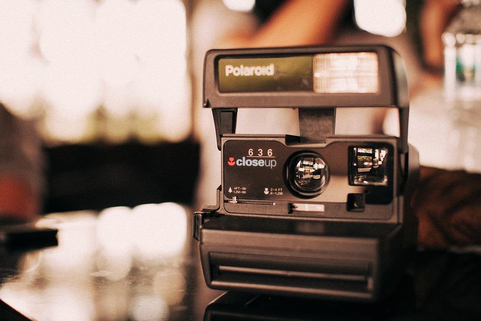 Le polaroid : pour des photos instantanées !