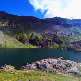 Balea Lake, Romania by Alexandru Lupulescu - Landscapes Mountains & Hills ( mountains, romania, balea lake, lake )