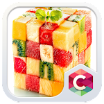 Fruit Cube Theme: Fresh live HD Wallpaper Icon