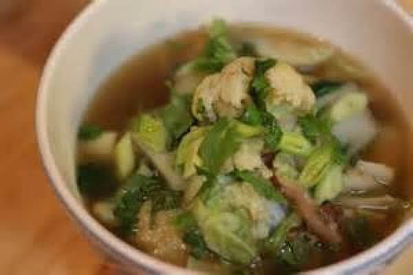 Bok Choy Pork Soup