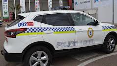 Vehículo de la Polcía de Níjar, similar al que ha intervenido en la detención