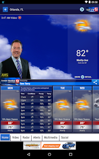 WFTV Channel 9 Weather- screenshot thumbnail