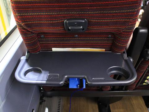 西鉄高速バス「桜島号」 3145 テーブル