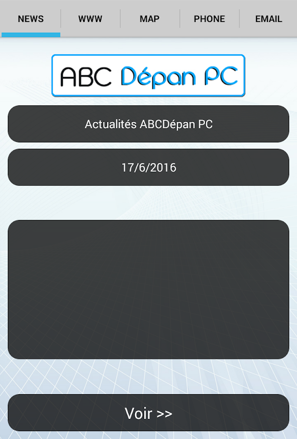 ABCDépan PC- screenshot