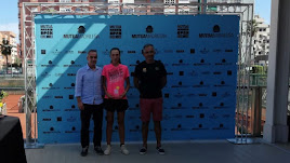 Encarni García Ávila en el Mutua Madrid Open sub16 de Valencia.