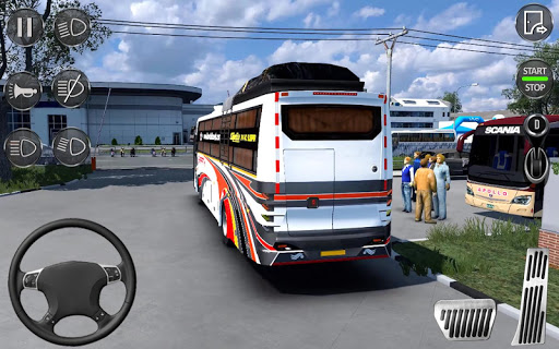 Euro Coach Bus Simulator 2020 : Bus Driving Games 1.1 screenshots 4