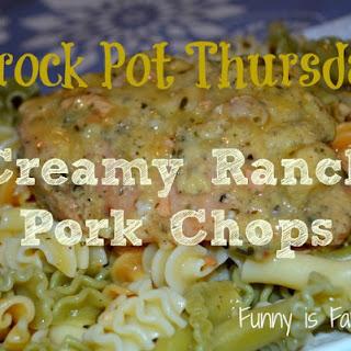Crock Pot Creamy Ranch Pork Chops Recipe