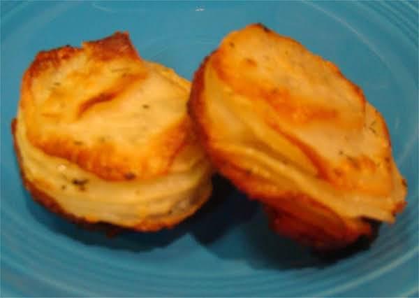 Ranch Potato Cupcake Fans Recipe