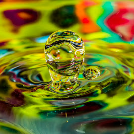 by P Murphy - Abstract Water Drops & Splashes (  )