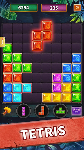 Jewel tetris puzzle-block puzzle&pop star - screenshot