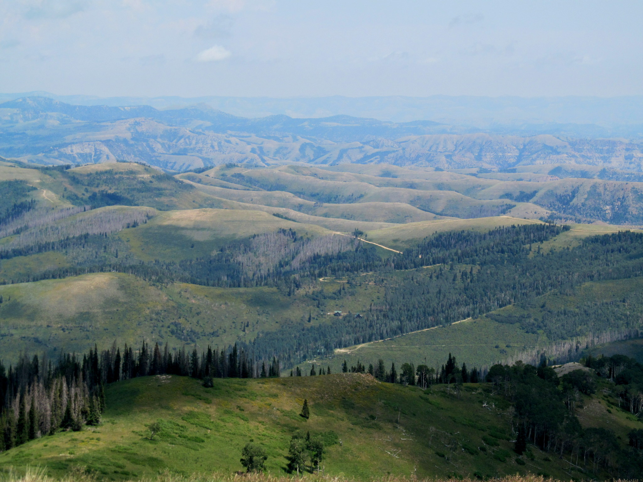 Photo: Hilly country in northwest Carbon County