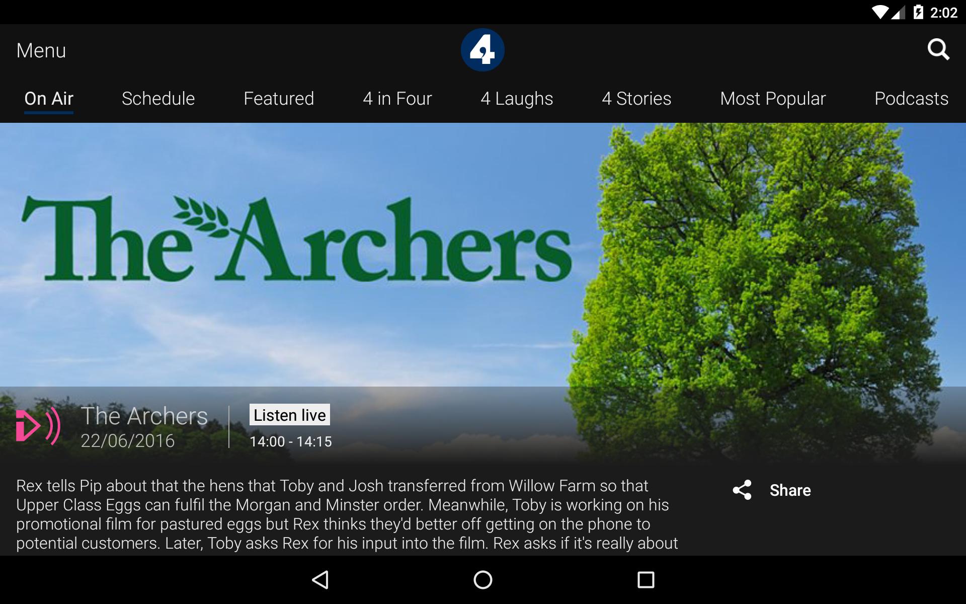 BBC iPlayer Radio screenshot #13
