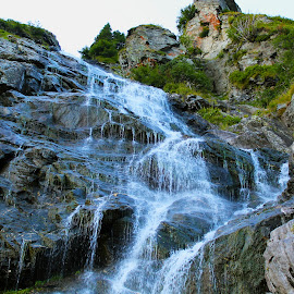 Waterfall by Alexandru Lupulescu - Landscapes Waterscapes