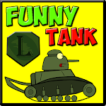 Funny tank - free game for kids Icon