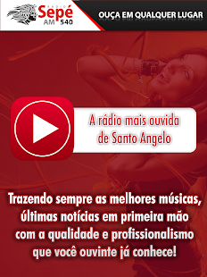 Rádio Sepe AM - Santo Ângelo- screenshot thumbnail