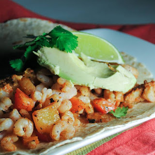 Cod and Shrimp Tortillas.