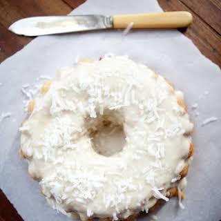 Classic Vanilla Coconut Flour Paleo Cake.
