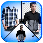 Photo Suit Maker for Men Shirt Icon