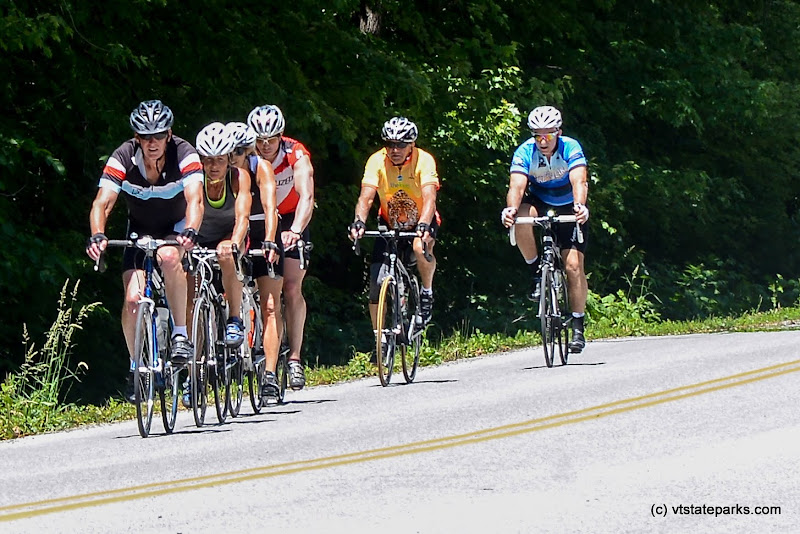 Photo: Bikers at Knight Point State Park by Raven Schwan-Noble