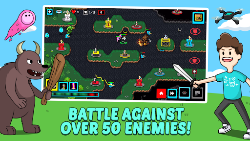 Cats & Cosplay: Epic Tower Defense Fighting Game  image 3