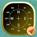 Golden Compass |Driving Navigation|GPS Rout Finder icon