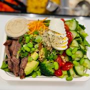 Keto steak salad (keto)