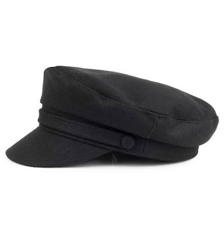 Fiddler Cap Wool - svart