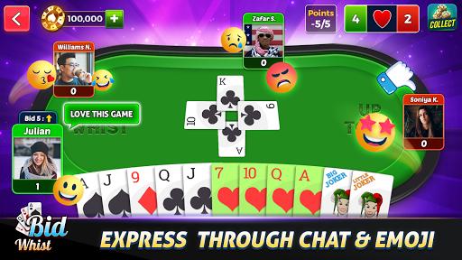 Bid Whist Free u2013 Classic Whist 2 Player Card Game 11.3 screenshots 2