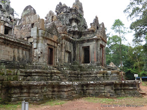 Photo: Ta Keo is rather plain compared to other temples, without the intricate carvings.