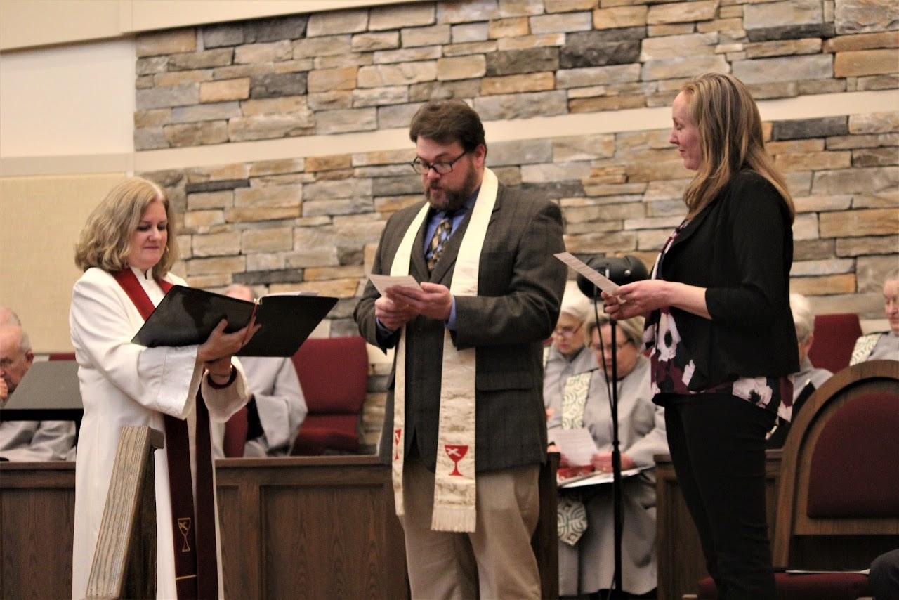 Rev. Adam Bradley Install