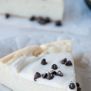 Cannoli Protein Cheesecake
