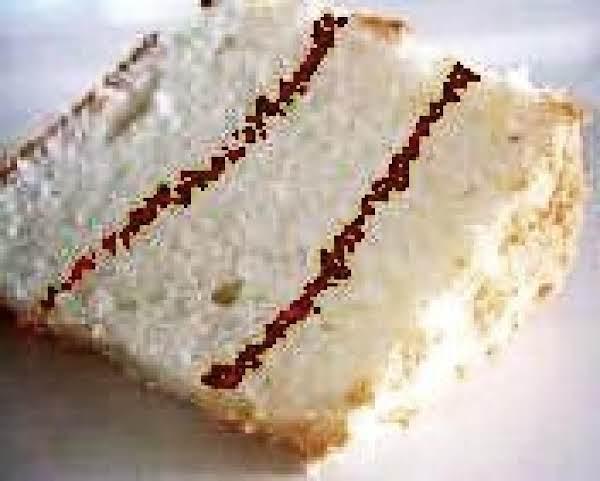Cinnamon Ripple Angelfood Cake Recipe
