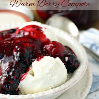 Slow Cooker Warm Berry Compote.