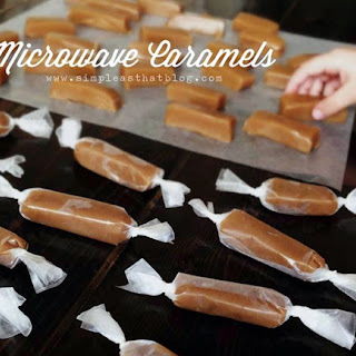 Easy Microwave Caramels.