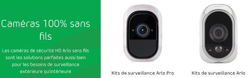 Kit de surveillance Arlo Pro et Arlo