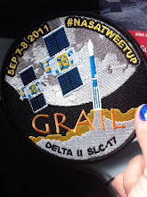 Photo: The GRAIL patch I helped design & ordered.
