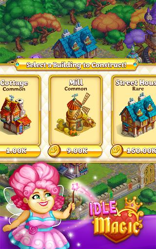 Idle Magic:Builder,Miner,Farmer at Click Away City 1.17 screenshots 4