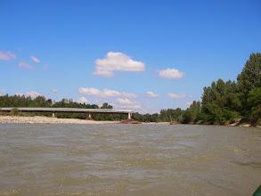 Photo: Ostatnia wysoka woda zabrała pół mostu