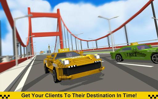 Crazy Taxi Driver: American Blocky Cab 1.4 screenshots 1