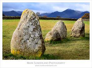 Photo: Castlerigg Stone Circle  I'd not really been expecting a great deal from Castlerigg in the overcast conditions, and only decided to visit for a quick look as I was leaving Keswick. I'm glad I did - the colours of the lichen on the stones were amazing!  Canon EOS 5D MkII,EF70-200mm f/4L USM at 70mm, ISO 100, 1/8s at f22