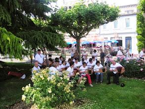 Photo: Platzkonzert an der Promenade in Vevey