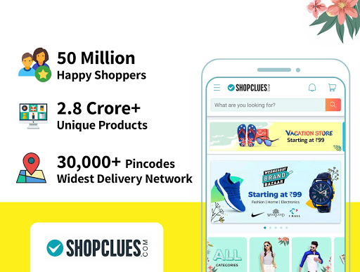 ShopClues: Online Shopping App 3.5.72 screenshots 1