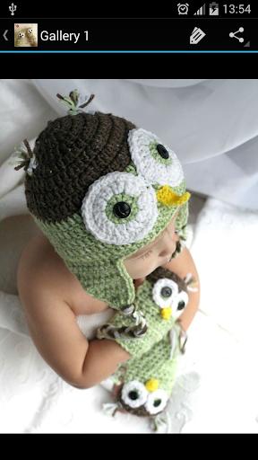 Crochet Pattern Baby Gloves